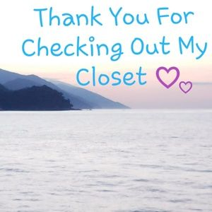 Other - Thank You For Checking Out My Closet